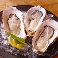 【三陸の「牡蠣」は濃厚で美味!~生牡蠣・蒸し牡蠣~】東北といえば新鮮な海鮮♪東北が好きな私たちだからこそ仕入れられる、旬の濃厚な牡蠣をお召し上がりください!生牡蠣や蒸し牡蠣は1個単位でご注文できます!ぜひ地のワインや地酒と一緒にご賞味あれ♪三陸の牡蠣をカラっと揚げた牡蠣フライもおすすめですよ!