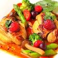 料理メニュー写真フォアグラと山芋のソテー