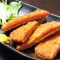 料理メニュー写真昭和のハムカツ