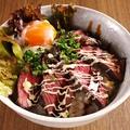 料理メニュー写真★期間限定★焼肉屋のローストビーフ丼