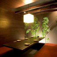 広島市内でアクセス良好!掘りごたつ個室を完備