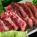 料理メニュー写真炭焼き牛ステーキ