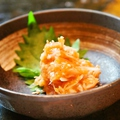 料理メニュー写真サメ軟骨梅肉和え