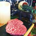 ≪50g単位で注文できる黒毛和牛ランプステーキ≫
