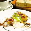 料理メニュー写真お好きなケーキ+コーヒー・紅茶・カフェオレ・ワイン
