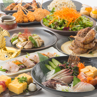 [山形駅前店]飲み放題付宴会コースは5種で完全個室用意