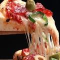 料理メニュー写真ガーリックピザ