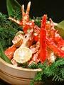 料理メニュー写真桶盛りタラバ蟹