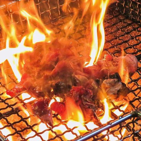 本格炭火焼きは長崎では「やきとり道場」が元祖!