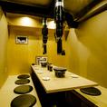 『畳を使った和風な堀ごたつ個室』小規模宴会、ファミリーにお勧めです!!