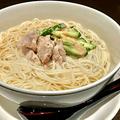 料理メニュー写真冷 棒棒鶏素麺