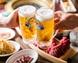 暑い日にはビールとお肉で栄養補給★