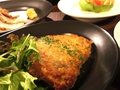 料理メニュー写真ミラノ風カツレツ
