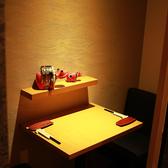 2名様からご利用可能のプライベートなテーブル個室席!