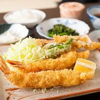 ランチオススメの大海老定食