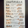 【厳選地酒をご紹介】佐渡逸見酒造・真稜、長岡河忠酒造・想天坊じゃんげなど、新潟の地酒を豊富に取り揃えております!(1合600円・グラス500円より)