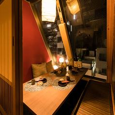 夜景個室バル GAKU 市ヶ谷駅前店の雰囲気1