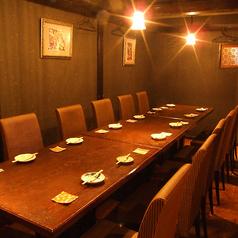 【小宴会席】最大8名様までご利用いただけます。