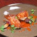 料理メニュー写真天然白甘鯛のうろこ焼き