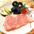 料理メニュー写真鳳来牛サーロインステーキ