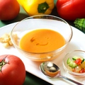 """料理メニュー写真アンダルシアの冷たいスープ""""ガスパチョ""""(夏限定)"""