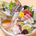 料理メニュー写真旬魚造り盛り合わせ (※2人前より)