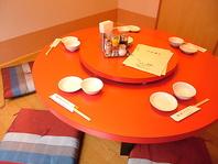 個室×座敷×円卓でリッチな中華宴会を!