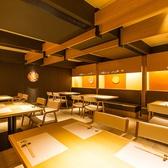 完全貸切でご宴会のお客様は、最大24名様。テーブル席を貸切完全個室で愉しめます。