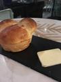 料理メニュー写真湯だねパンとエシレバター