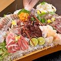 料理メニュー写真鮮魚の〆物
