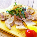 料理メニュー写真天草豚のバジル焼き (150g)