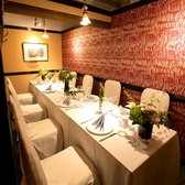 会社宴会、イベントの打ち明けなどにピッタリのお席のご用意もございます。コースの種類も充実しておりますのでぜひご利用ください。