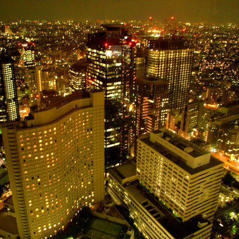 【ホワイトデー】高層ビルからの夜景を楽しめるお店でデート「新宿編」