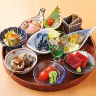 日本酒の『アテ』に、アテ盛り合わせ