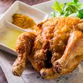 料理メニュー写真丸鶏の素揚げ