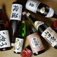 こだわりの地酒約15種!魚料理に合う地酒をお勧めします