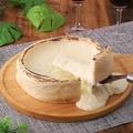 料理メニュー写真チーズが溢れ出して止まらないシカゴピザ