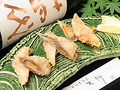 料理メニュー写真季節野菜のいも豚の肉巻き天ぷら