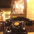 黒電話です!使えます♪