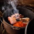 料理メニュー写真燻製肉3種盛合せ