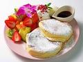 料理メニュー写真季節のたっぷりフルーツ