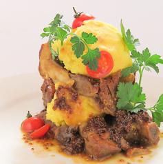 料理メニュー写真スペアリブのハニーマスタードソース