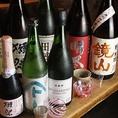 日本酒、ワインは季節毎にメニューを更新しますので、旬の味わいををご堪能いただけます。