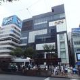 [通町筋電停]正面に建つファッションビル★auneビル8階★竹取の庭aune熊本店♪[最大60名様OK]