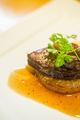 料理メニュー写真フォアグラのソテー マデラソース