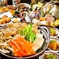 ★2時間飲み放題付きコース3500円からご用意★送別会・歓迎会などに最適なコースを全3種ご用意!当店自慢の焼き鳥・海鮮料理などの絶品料理が8品以上付いたお得なコースです。大鳥居でご宴会をお考えのお客様はぜひ渡美をご利用ください。