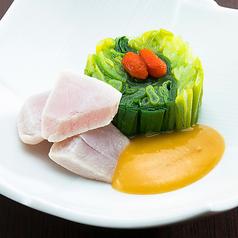 料理メニュー写真京都九条葱と鮪ぬた和え/京都九条葱ユッケ