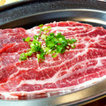 料理メニュー写真ツラミ(こめかみ)/サンドミノ(第一胃)