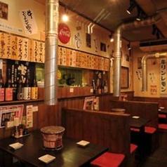 昔ながらの大衆居酒屋雰囲気を感じれる店内はアットホームな空間です♪