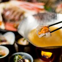 □絶品雲丹しゃぶ鍋□雲丹尽くしを満喫できる宴会